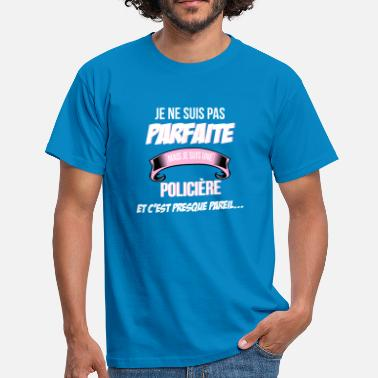 Humour Police Policie re cadeau humour - T-shirt Homme