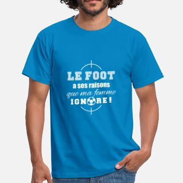 Message Sur Le Sport Football - T-shirt Homme