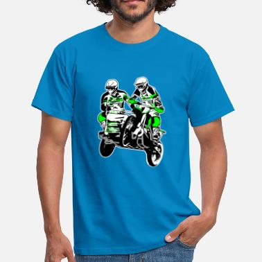 Motorcycle Sidecar Sidecar MotoCross - Men's T-Shirt