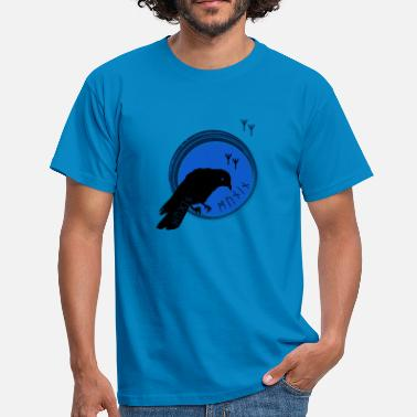Hugin The ravens of Odin symbol Hugin and Munin - Men's T-Shirt