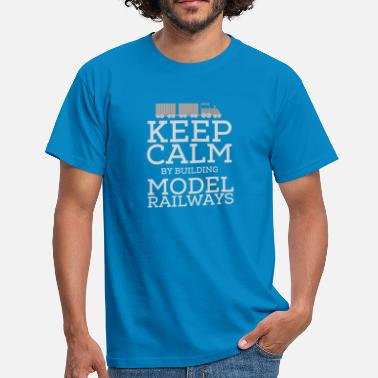 Model Train Model trains - Men's T-Shirt