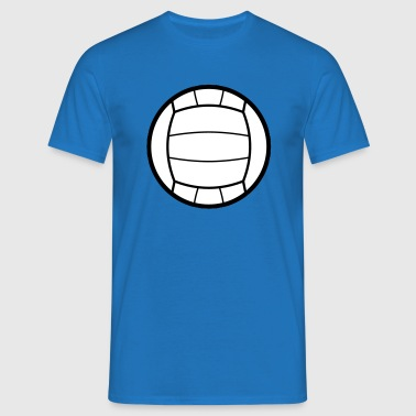 Volleyball Icon - Men's T-Shirt