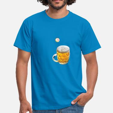 Table Tennis Beer Pong Pong beer - Men's T-Shirt