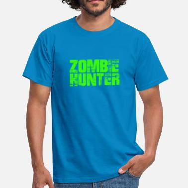 Zombie Jager zombie jager - Mannen T-shirt