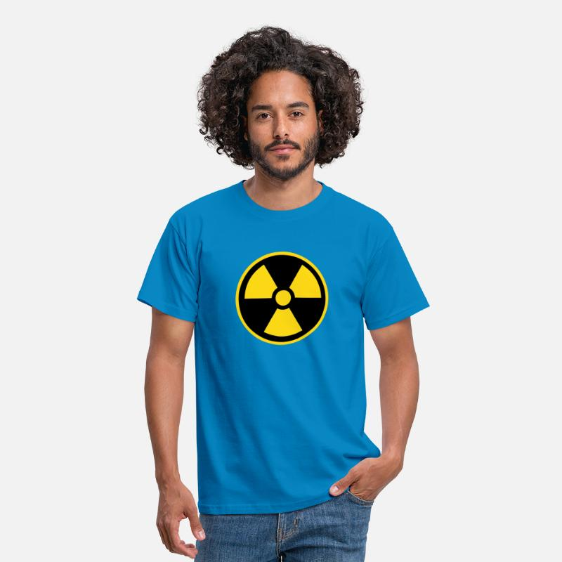 Chernobyl T-Shirts - Nuke Logo - Men's T-Shirt royal blue