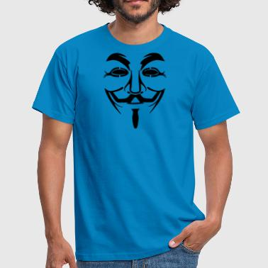 Vendetta Anonymous Vendetta mask - Guy Fawkes (Anonymous) - Men's T-Shirt