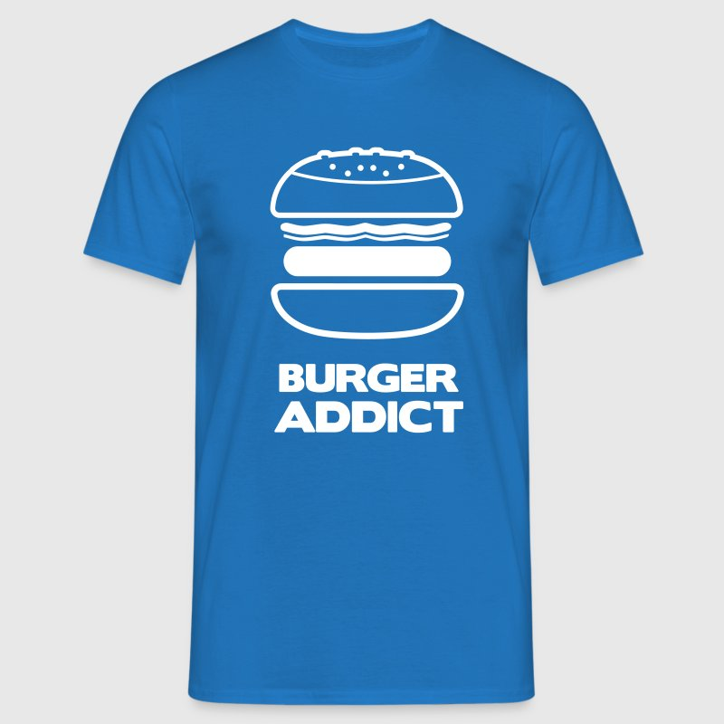 BURGER ADDICT - Men's T-Shirt