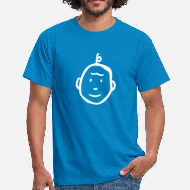 Thinking child - Mannen T-shirt