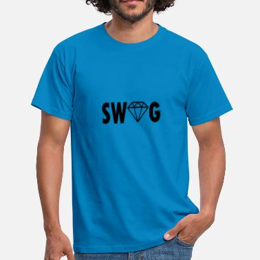 Swag Diamanten Swag Diamant - Männer T-Shirt