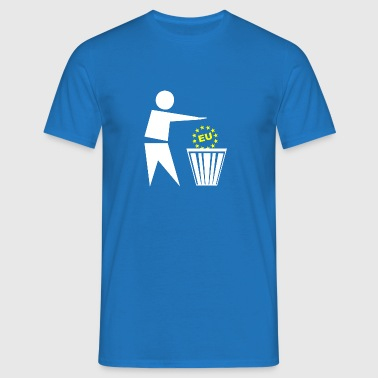 Put the eu in the basket EUSSR - Men's T-Shirt