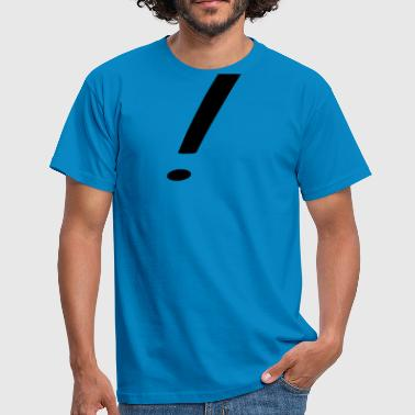 Exclamation Mark exclamation mark - Men's T-Shirt