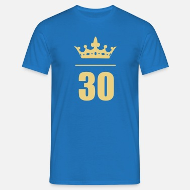 30 Birthday Age Manner T Shirt