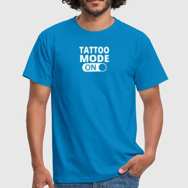 MODE ON TATTOO - Männer T-Shirt