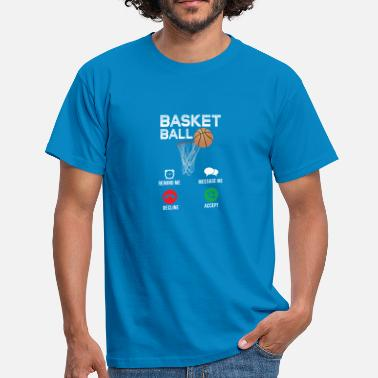 Basketspelare Basketspelare spelare~~POS=HEADCOMP - T-shirt herr