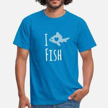 Fish Love - Men's T-Shirt