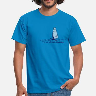 Windsurfing Love Windsurfing - Männer T-Shirt