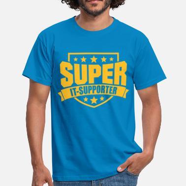 It-support Super IT-Supporter - Männer T-Shirt