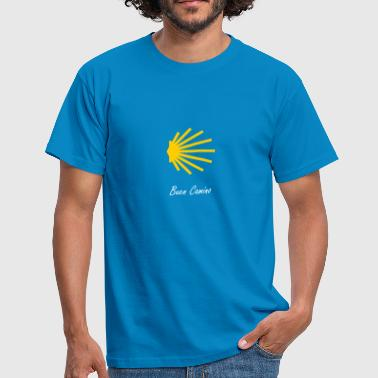 Scallop Scallop shows the way - Men's T-Shirt
