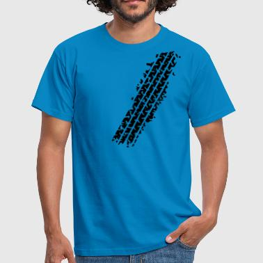 TYRE TRACK - Men's T-Shirt