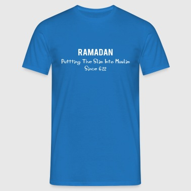 Slim into Muslim - Men's T-Shirt