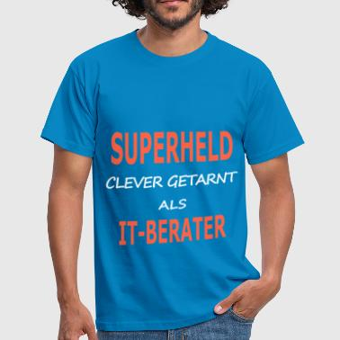 itberater_superheld - Männer T-Shirt