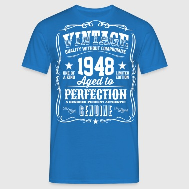 Vintage 1948 Aged to Perfection - Herre-T-shirt
