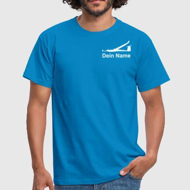 ls8 sailplane glider pilot - Men's T-Shirt
