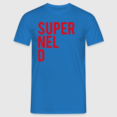 SuperNELdRED-01 - T-skjorte for menn