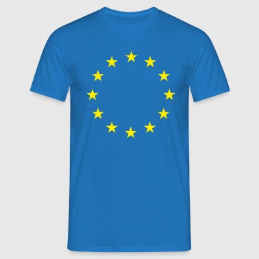 European Union Stars Flag - Men's T-Shirt
