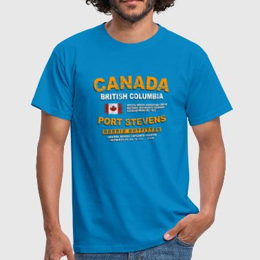 Canada - British Columbia - Canadian Vintage Flag - Männer T-Shirt