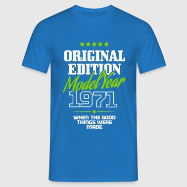 Original Edition Model Year 1971 - Mannen T-shirt