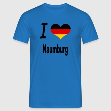 I Love Germany Home Naumburg - Männer T-Shirt