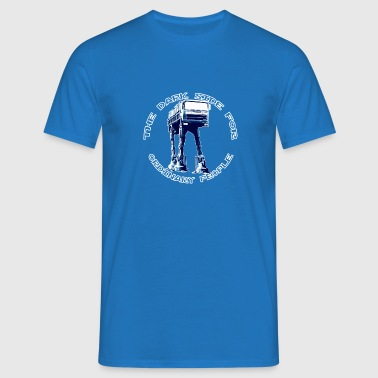 AT-AT Fiat ordinary blue - Men's T-Shirt