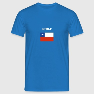 I love home homeland love roots CHILE - Men's T-Shirt