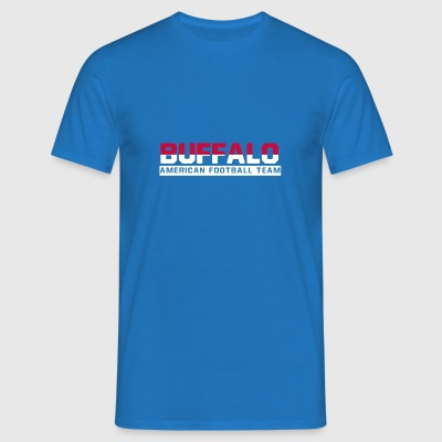 Buffalo Football - Männer T-Shirt