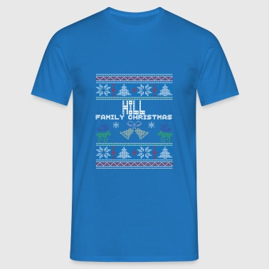 Ugly Hill Christmas Family Vacation Tshirt - T-shirt herr