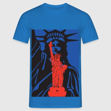 Statue of Liberty-statue of liberty-USA - Men's T-Shirt