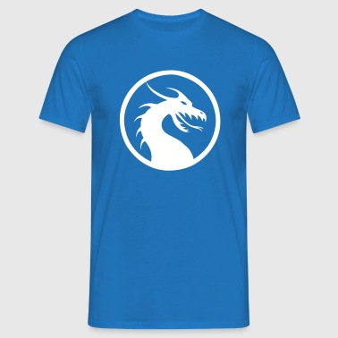 Anime Dragon Logo, Symbol - Men's T-Shirt