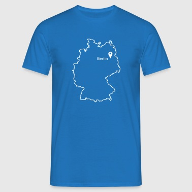 place to be: Berlin - Men's T-Shirt