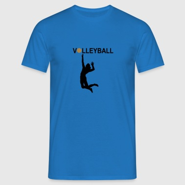 6061912 126238567 Volleyballerin3 - Herre-T-shirt
