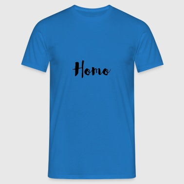 02 homo c Logbuch72 - Men's T-Shirt