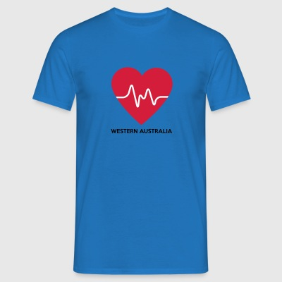 Heart Western Australia - Men's T-Shirt