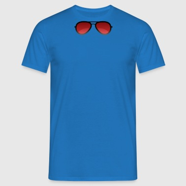 glasses - Men's T-Shirt