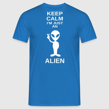 ++ ++ Bare en Alien - Herre-T-shirt