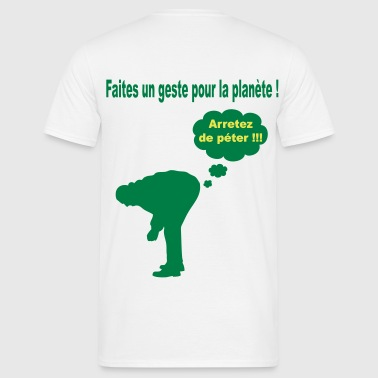 Ecologie_humour - T-shirt Homme