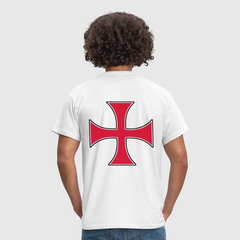 templar templiers croix cross - Men's T-Shirt