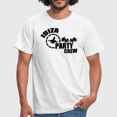 ibiza party crew - Männer T-Shirt