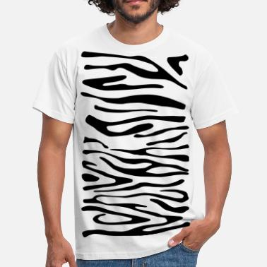 Zebra Print 1 - Men's T-Shirt