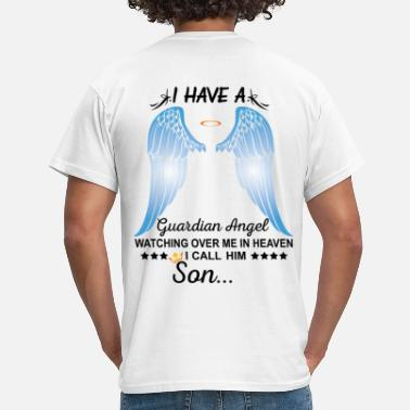 My Son My Son Is My Guardian Angel - Men's T-Shirt