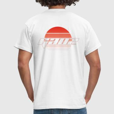 Red Sundown - Men's T-Shirt